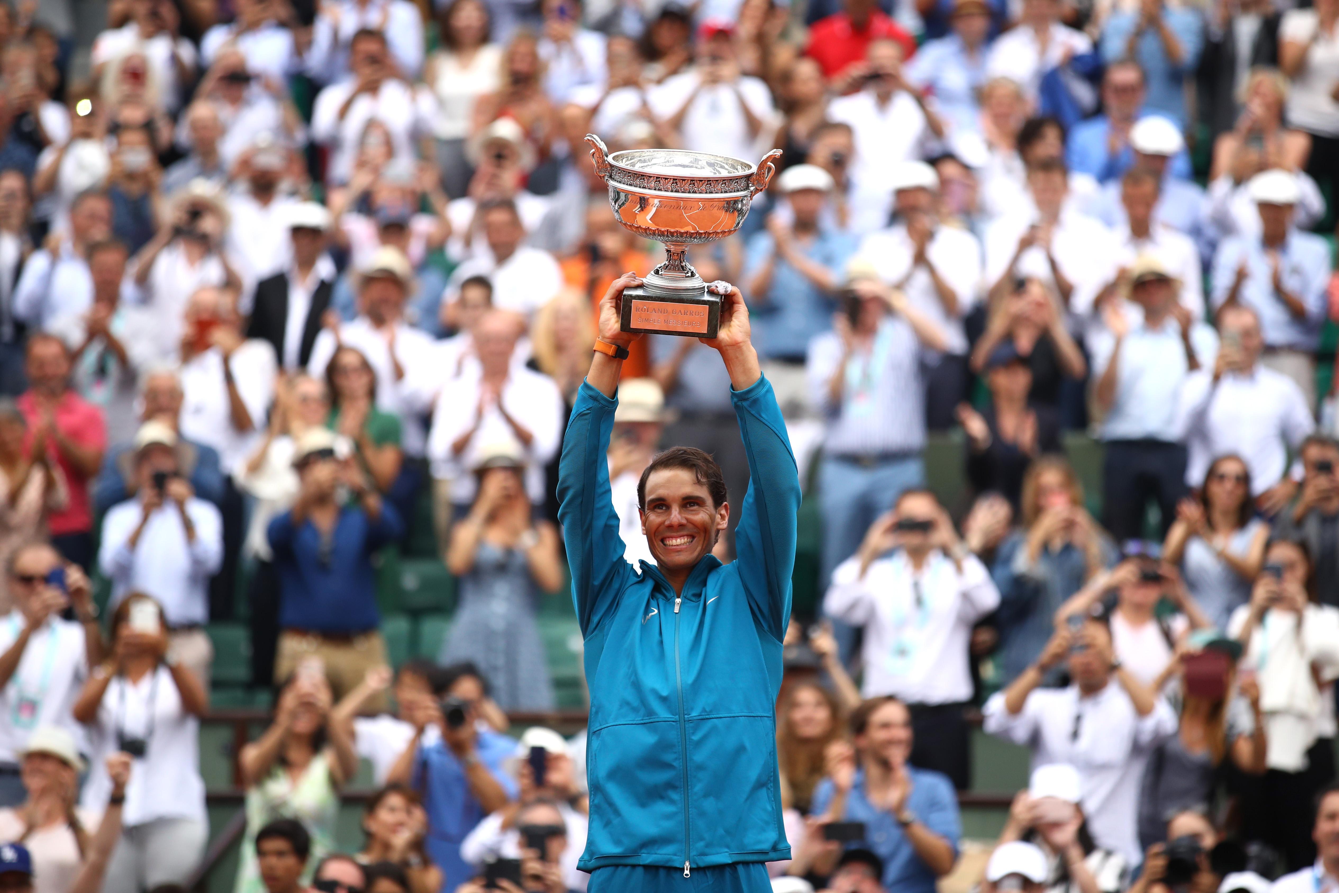 Rafael Nadal Roland Garros Final 2018 Dominic Thiem