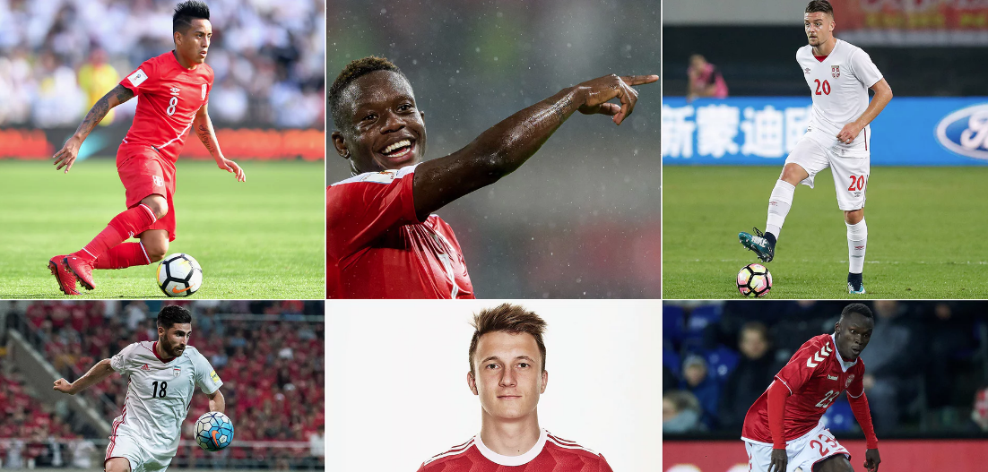 Seis jugadores de poco nombre que tienes que seguir en Rusia 2018