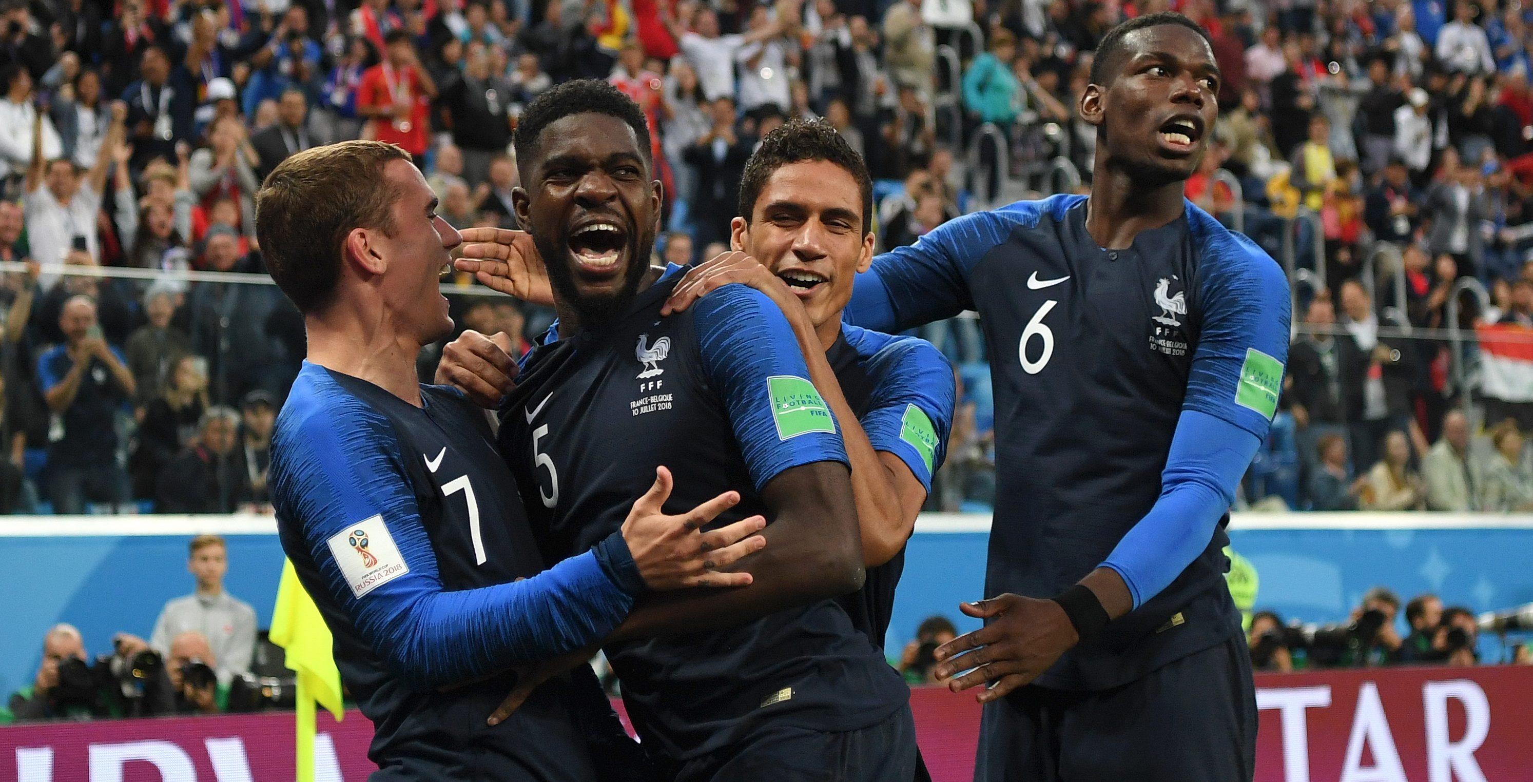 Filtran playera de Francia Campeón antes de la final de Rusia 2018
