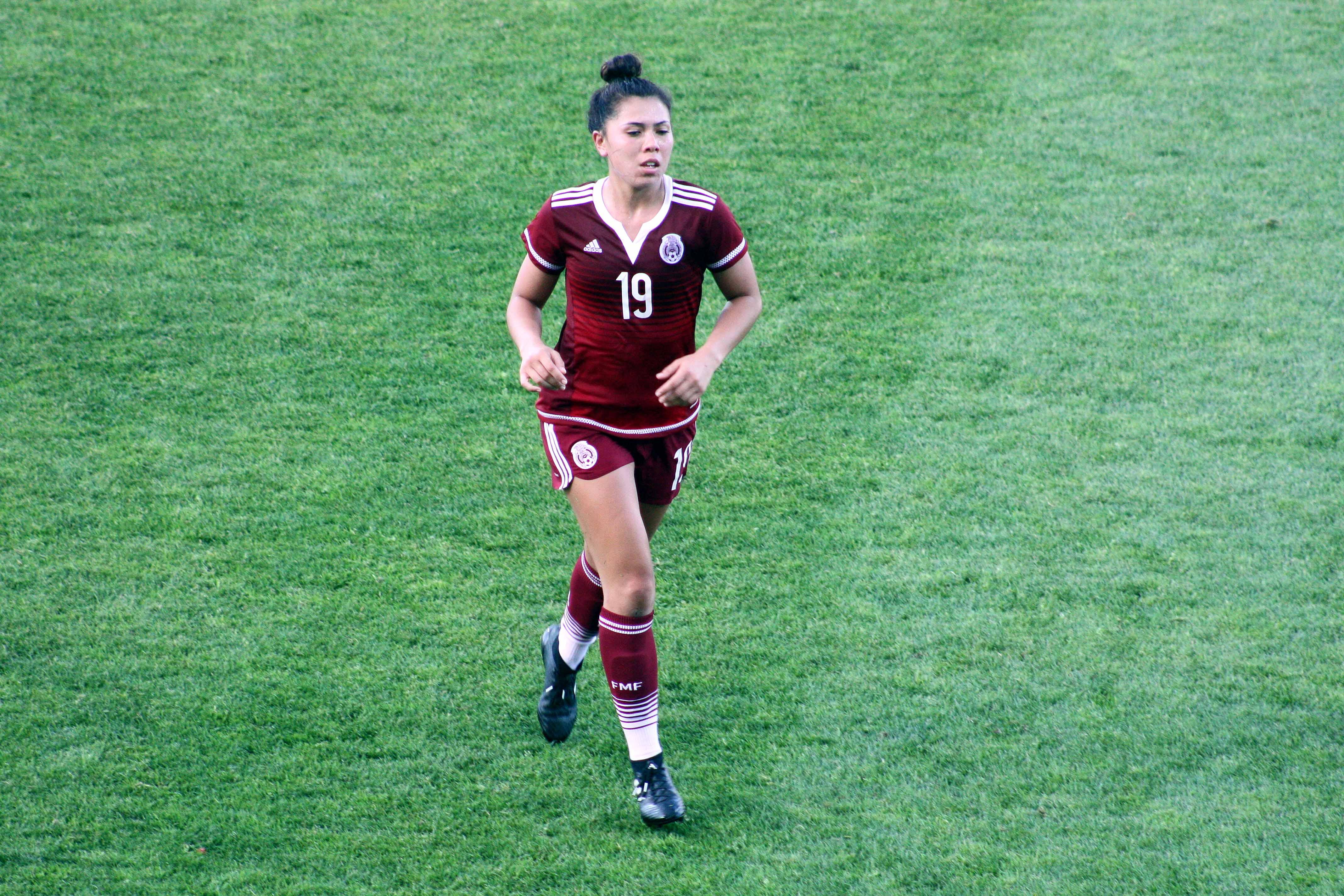 Kiana Palacios Mexicana Real Sociedad Femenil Pleyers