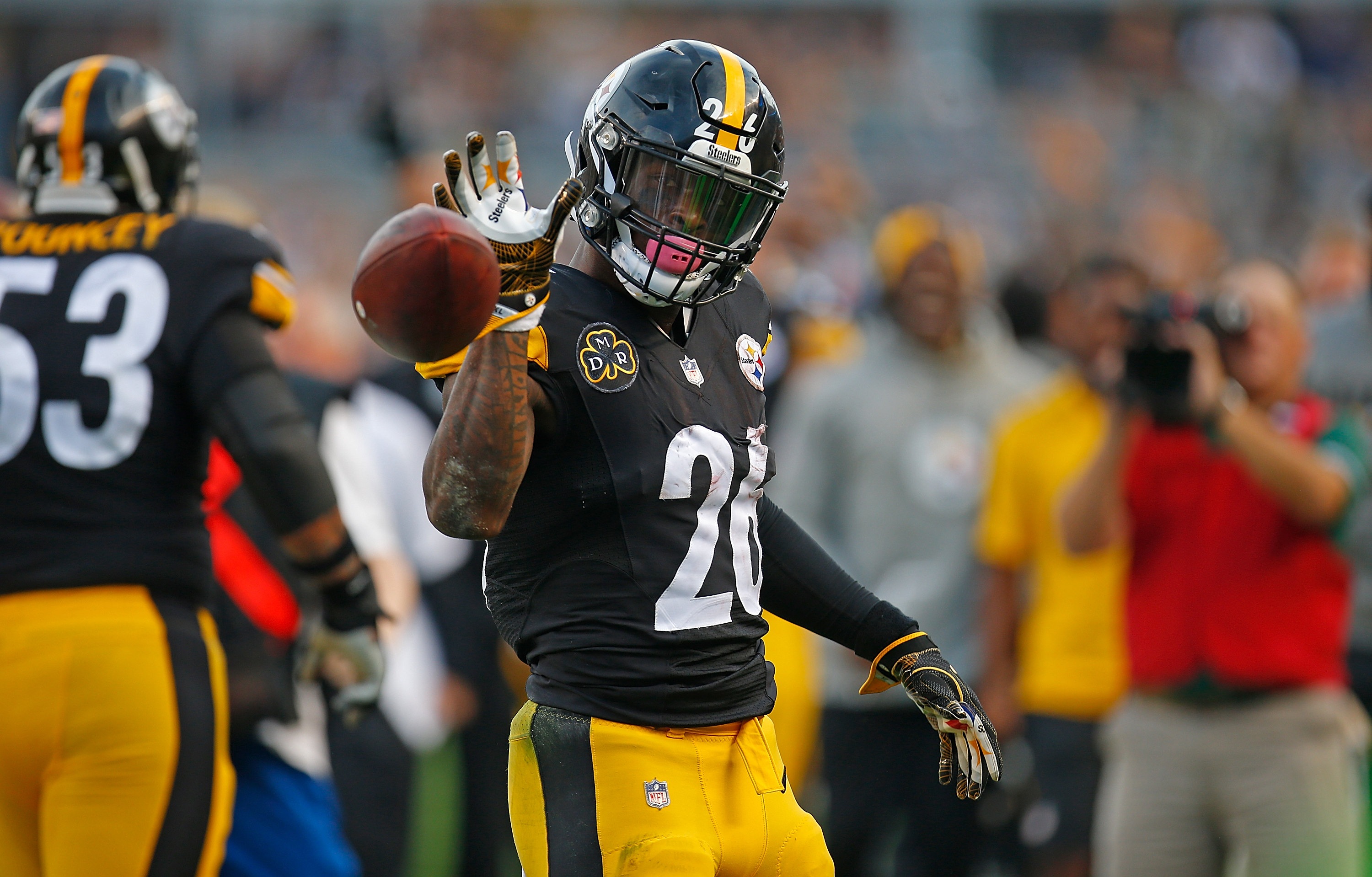 Le'veon Bell,Steelers, Pittsburgh, NFL