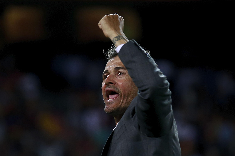 Luis Enrique Entrenador Selección España Los Pleyers