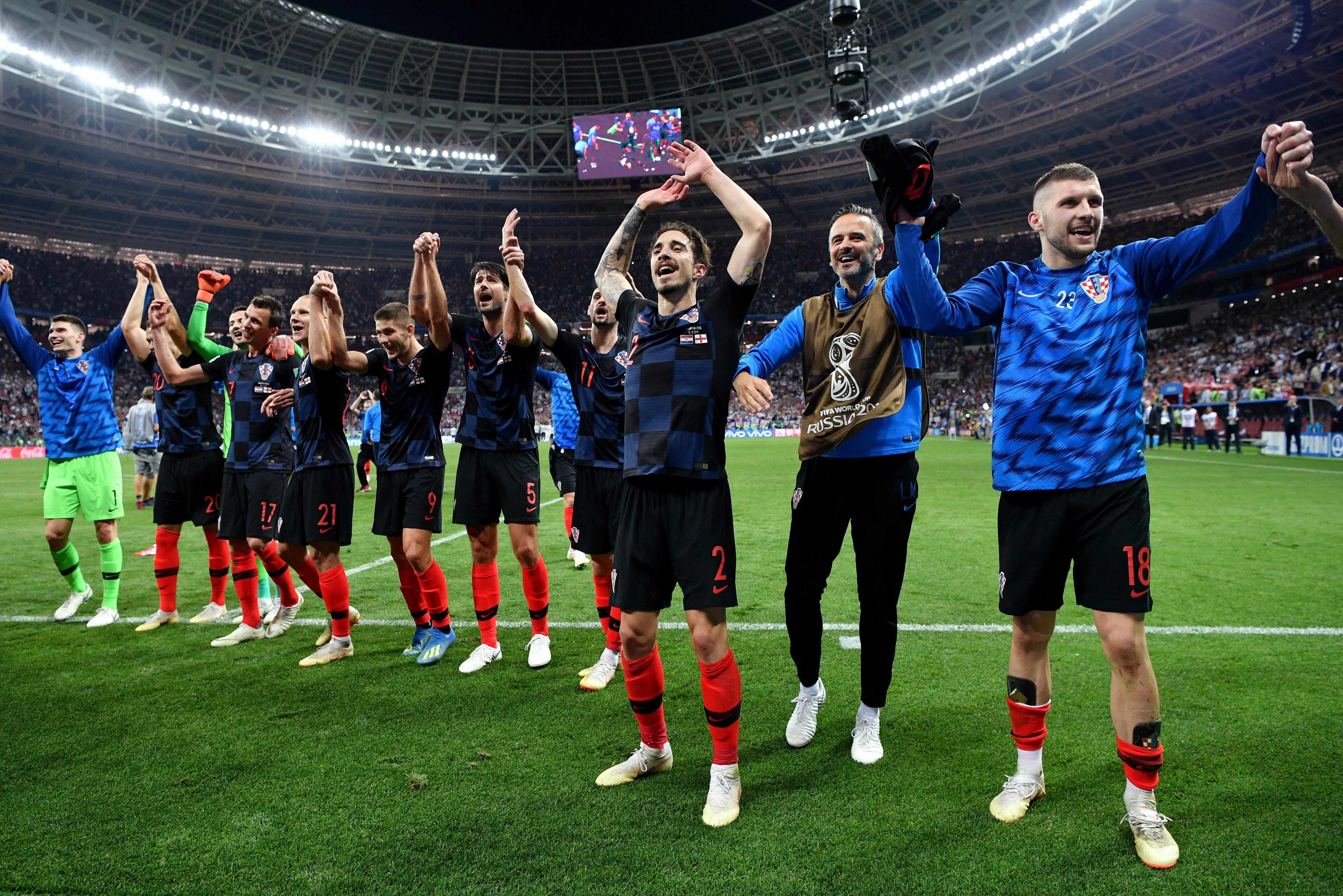 Estos son los jugadores de Croacia que perdieron vs México en Brasil 2014. Noticias en tiempo real