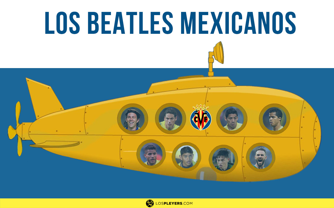 Los 8 mexicanos del Villarreal. Noticias en tiempo real