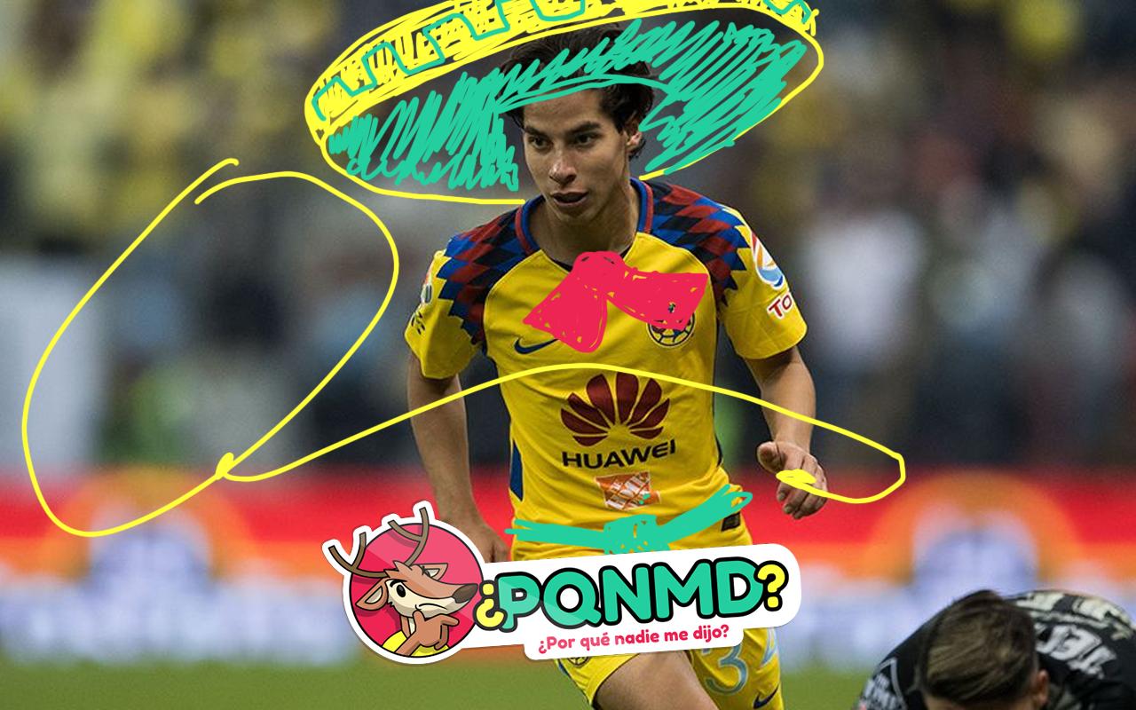 Diego Lainez Charro Caballos Futbolista Tabasco