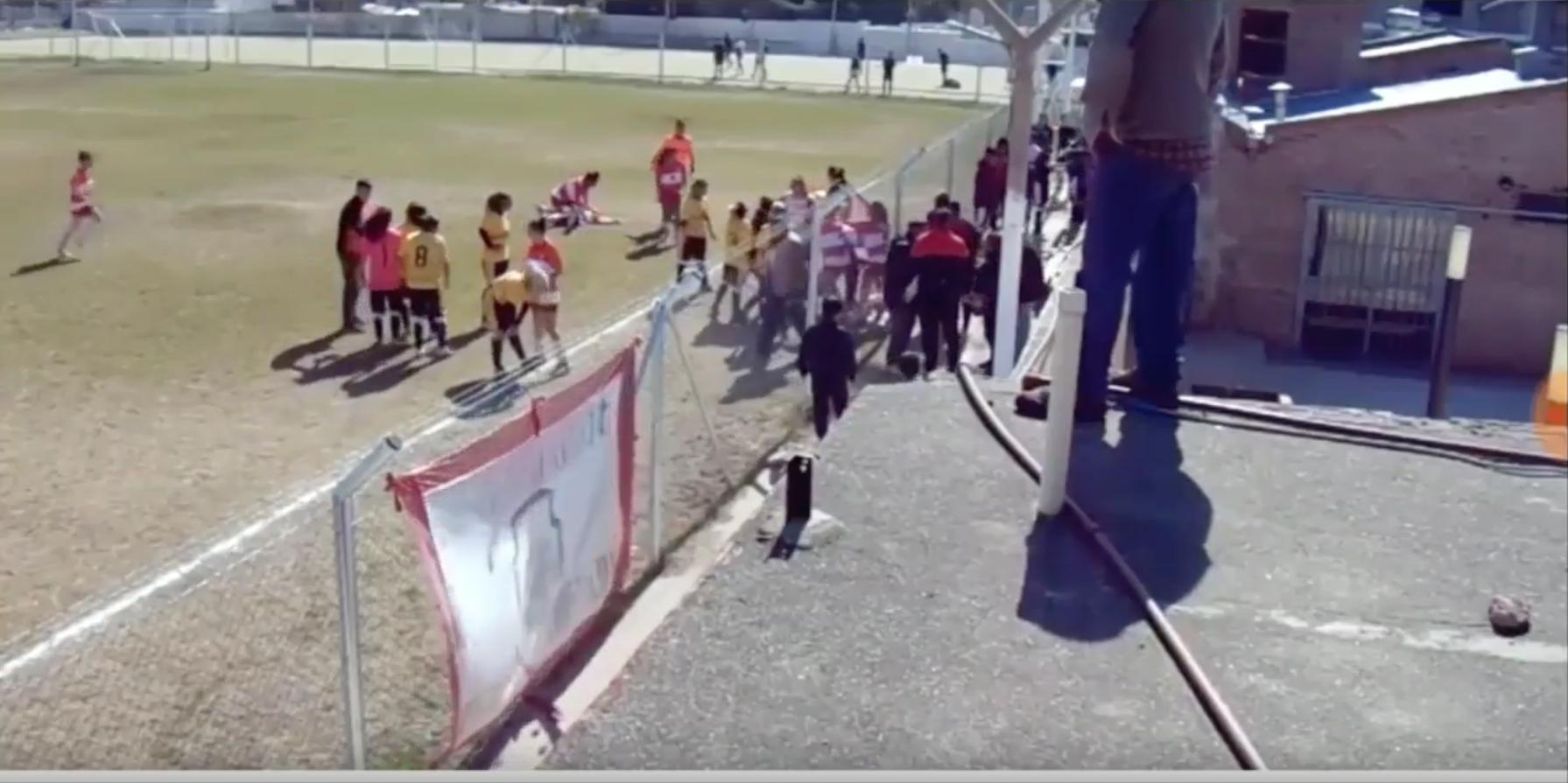 Pelea, Futbol Femenil, Argentina, Video