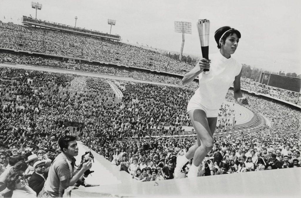 Juegos Olímpicos 1968 México Imagen Afición Publico Protestas Enriqueta Basilio