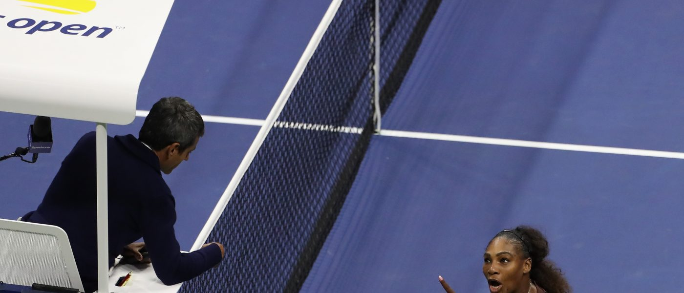 Serena Williams, Multa, Castigo, US Open, Tenis, Machismo
