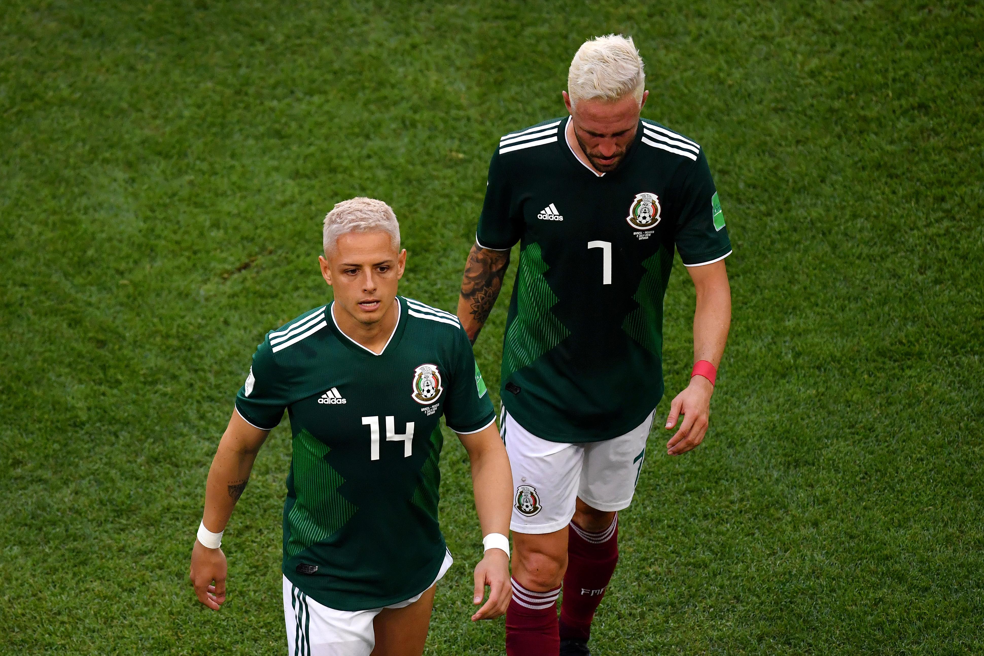Chicharito Hernández, Miguel Layún, Selección Mexicana, No Convocados Los Pleyers