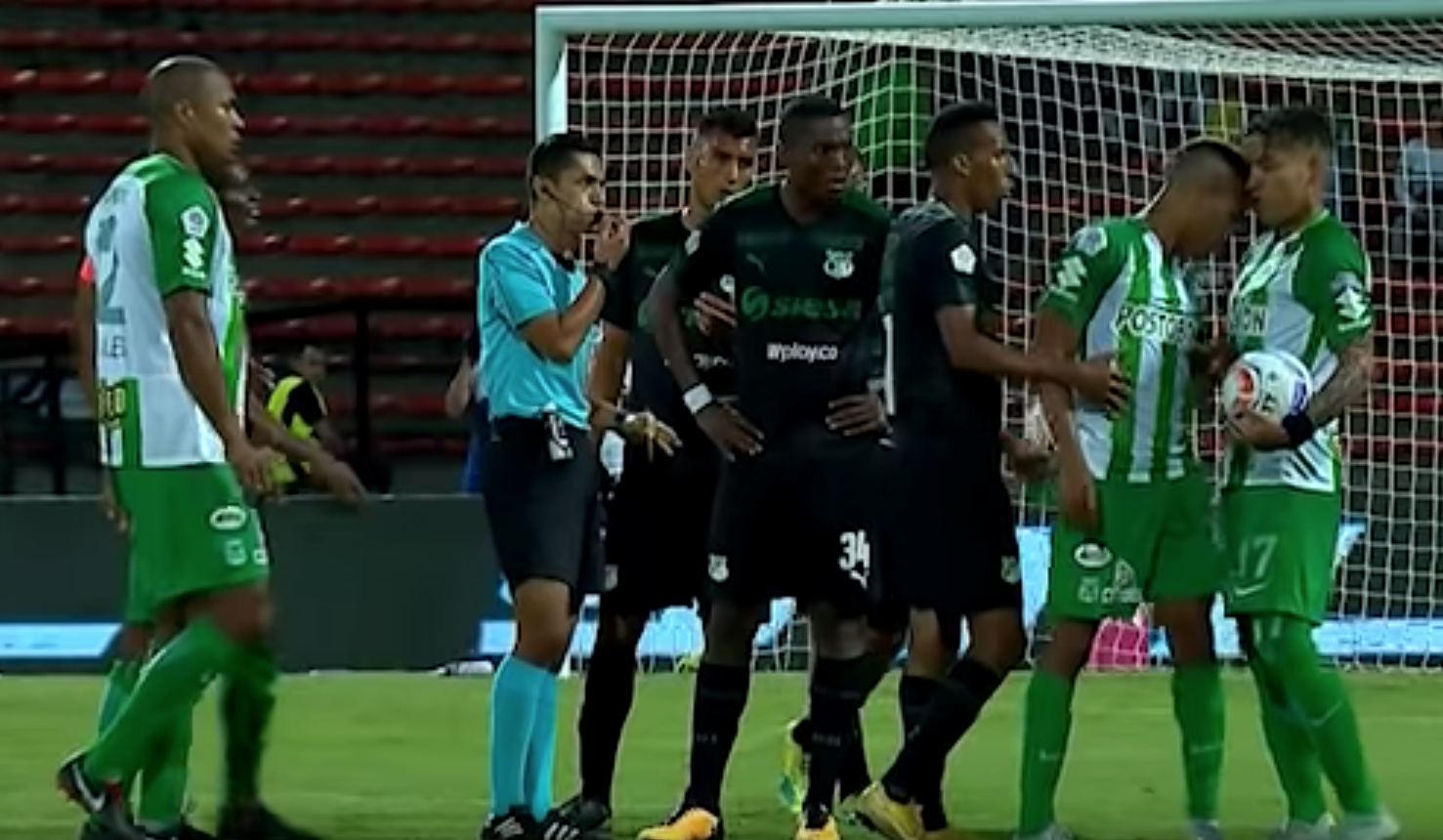 Dayro Moreno, Atlético Nacional, Pelea, Despedido Los Pleyers
