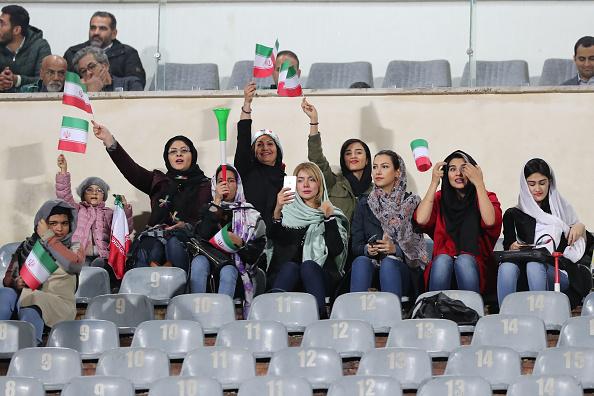 Irán, Mujeres, Prohibición, Estadio Los Pleyers