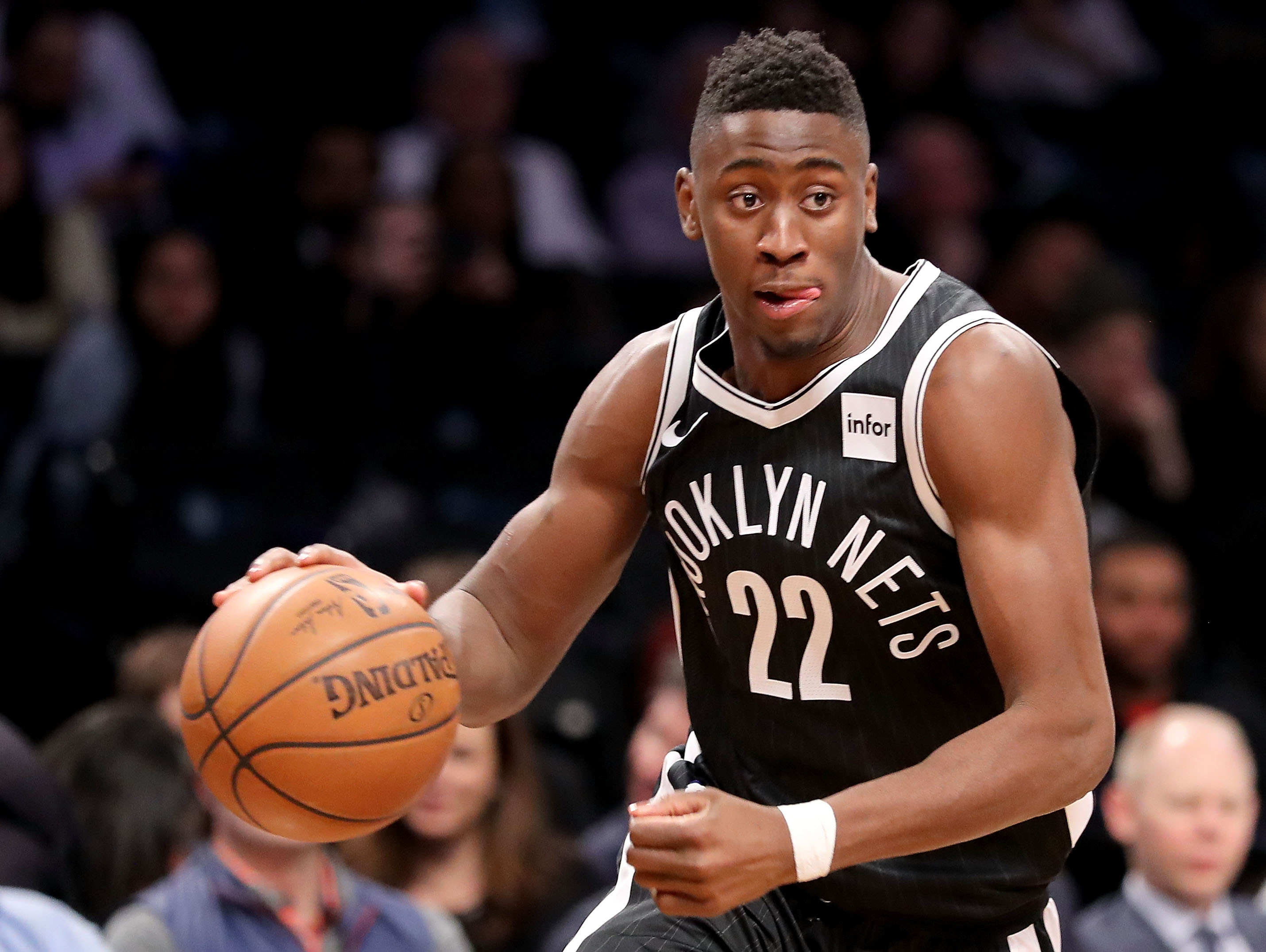 Caris LeVert, Brooklyn Nets, Minnesota Timberwolves, NBA Los Pleyers