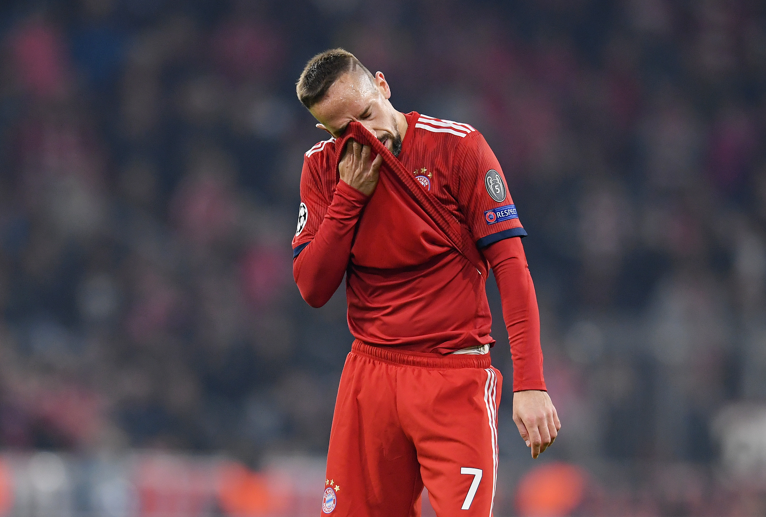 Franck Ribéry insultó y agredió a un periodista. Noticias en tiempo real
