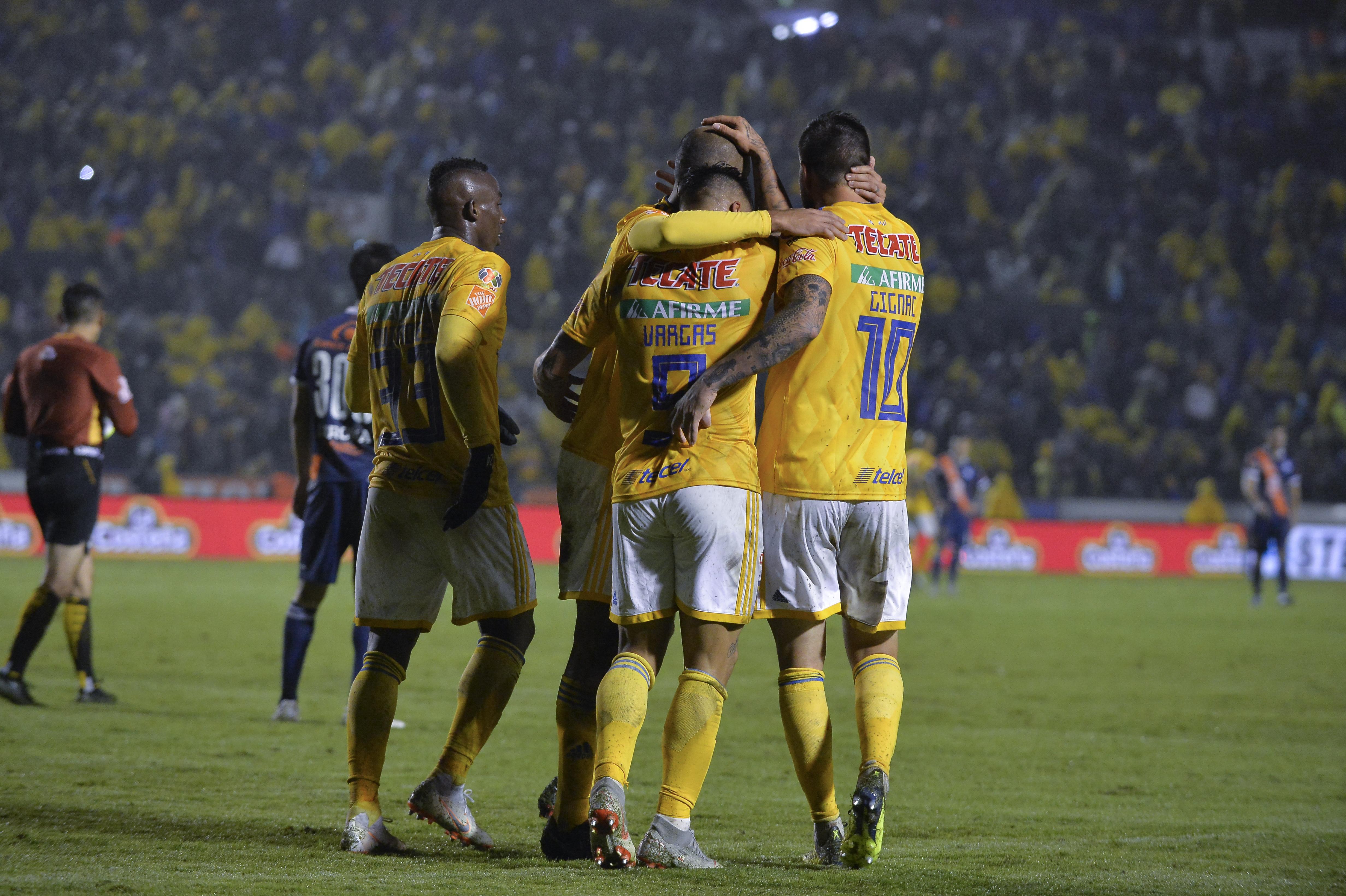 Tigres humilla al Puebla en el Estadio Universitario [Goles]. Noticias en tiempo real