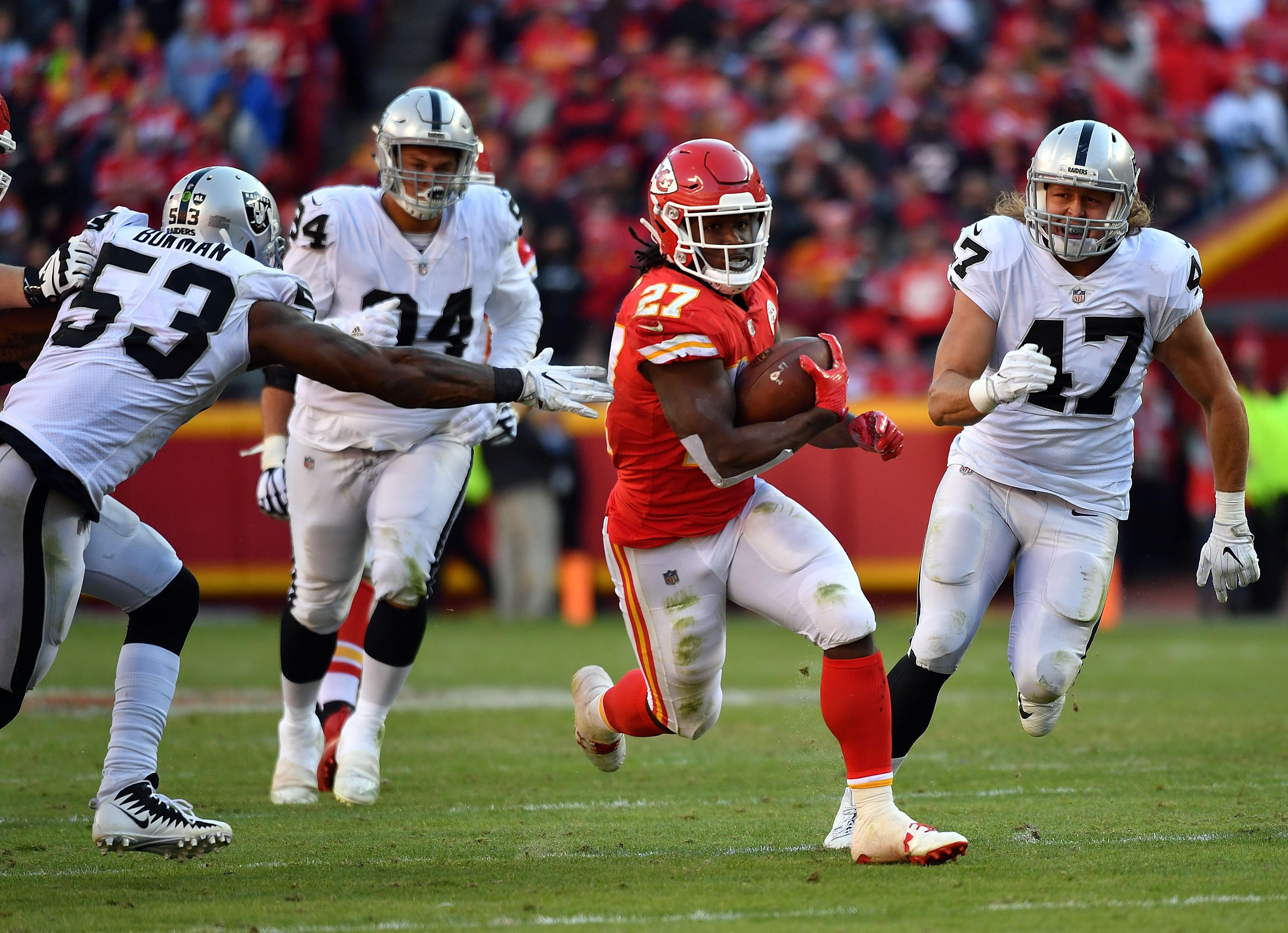 Horarios Semana 13 NFL 2018 Kansas Chiefs Los Angeles Rams