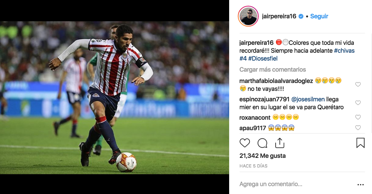 Jair Pereira Instagram Los Pleyers