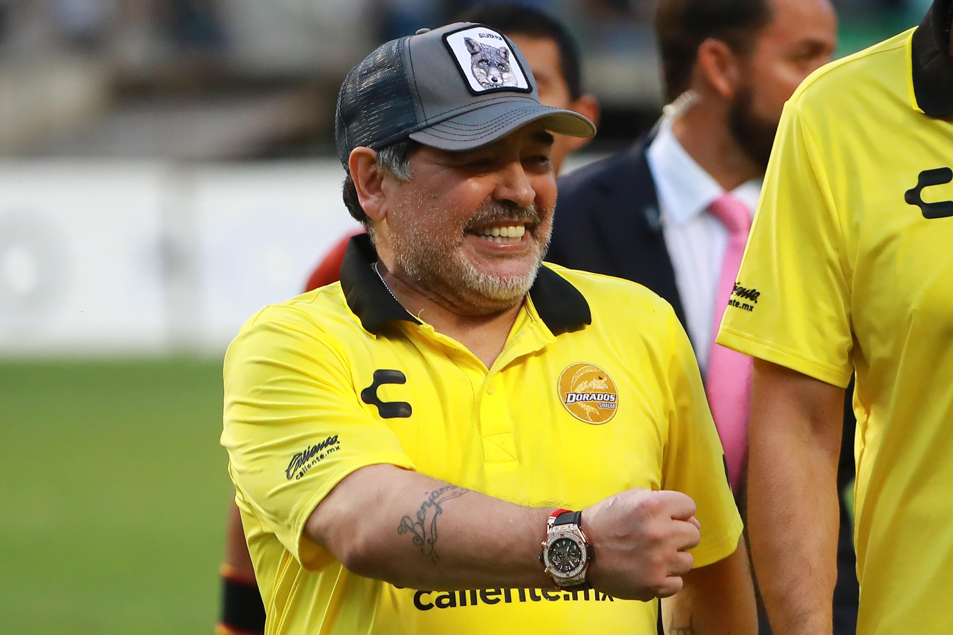 Maradona Mejor Técnico Futbol Mexicano Efectividad Los Pleyers