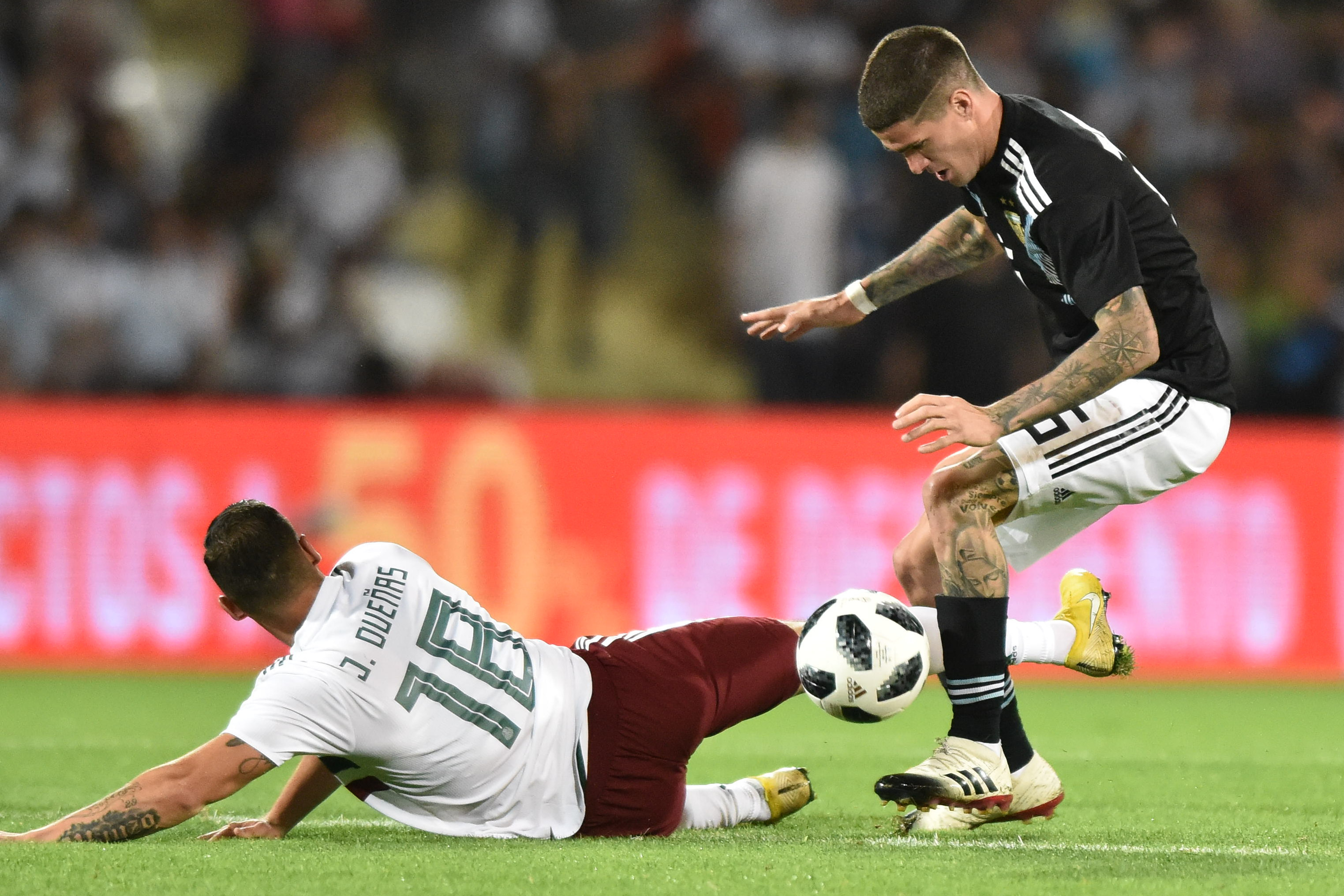 México Argentina Ferretti Amistoso Icardi Martino FIFA Resultado