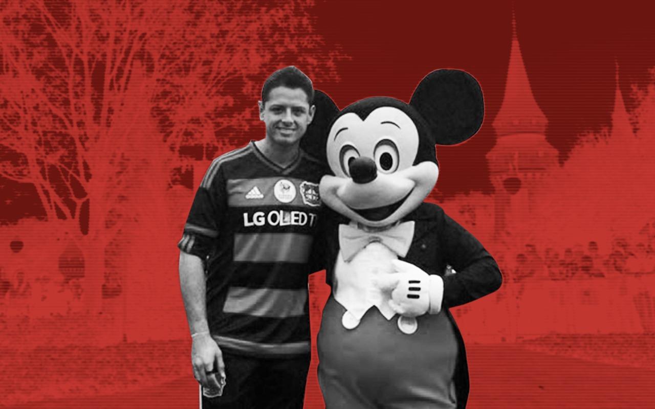 Momentos especiales entre el deporte y Mickey Mouse. Noticias en tiempo real