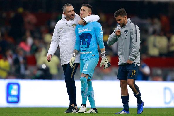 Alfredo Saldívar no pudo contener el llanto tras el 6-1. Noticias en tiempo real