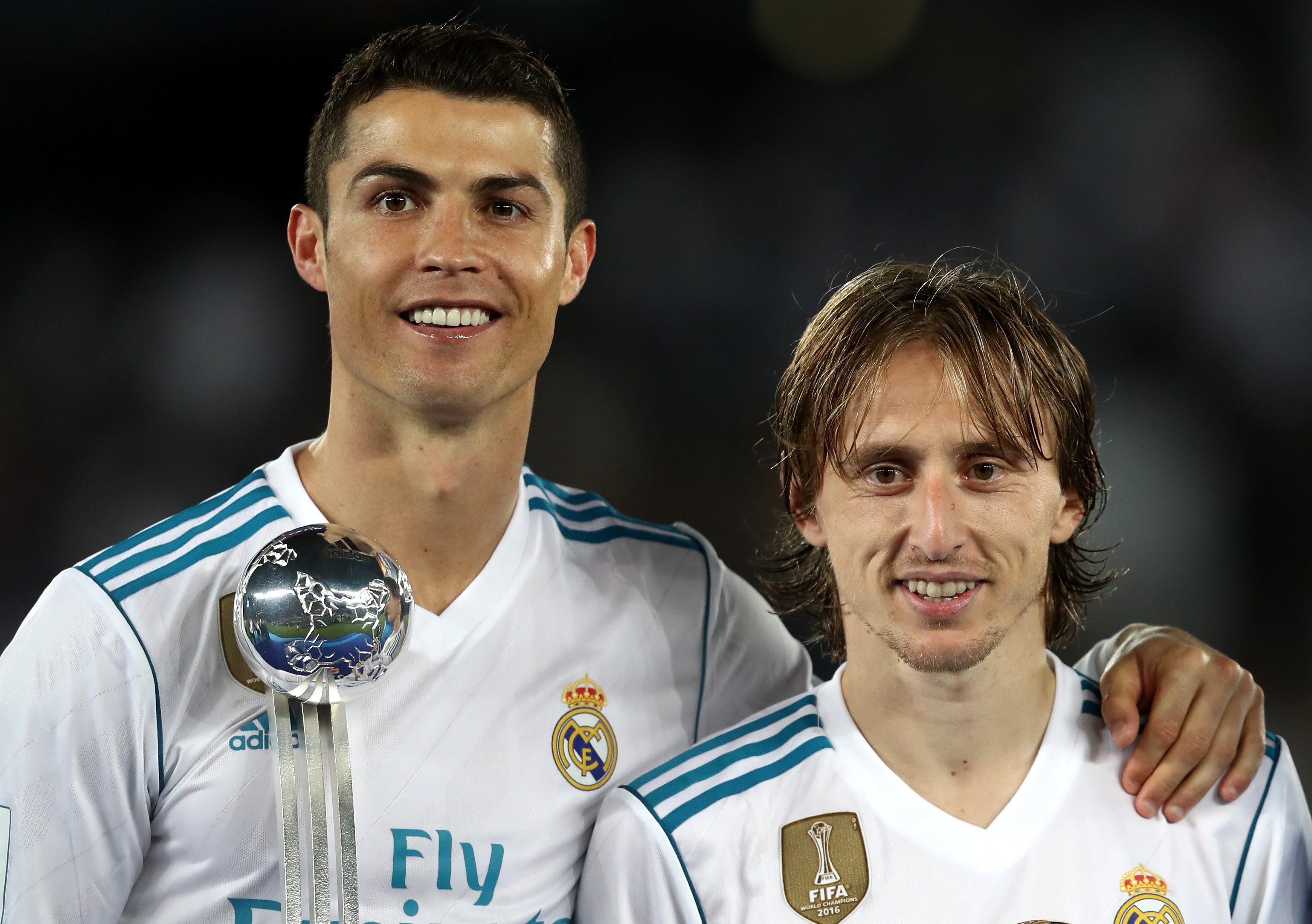 Cristiano Ronaldo Regreso Balón de Oro Luka Modric