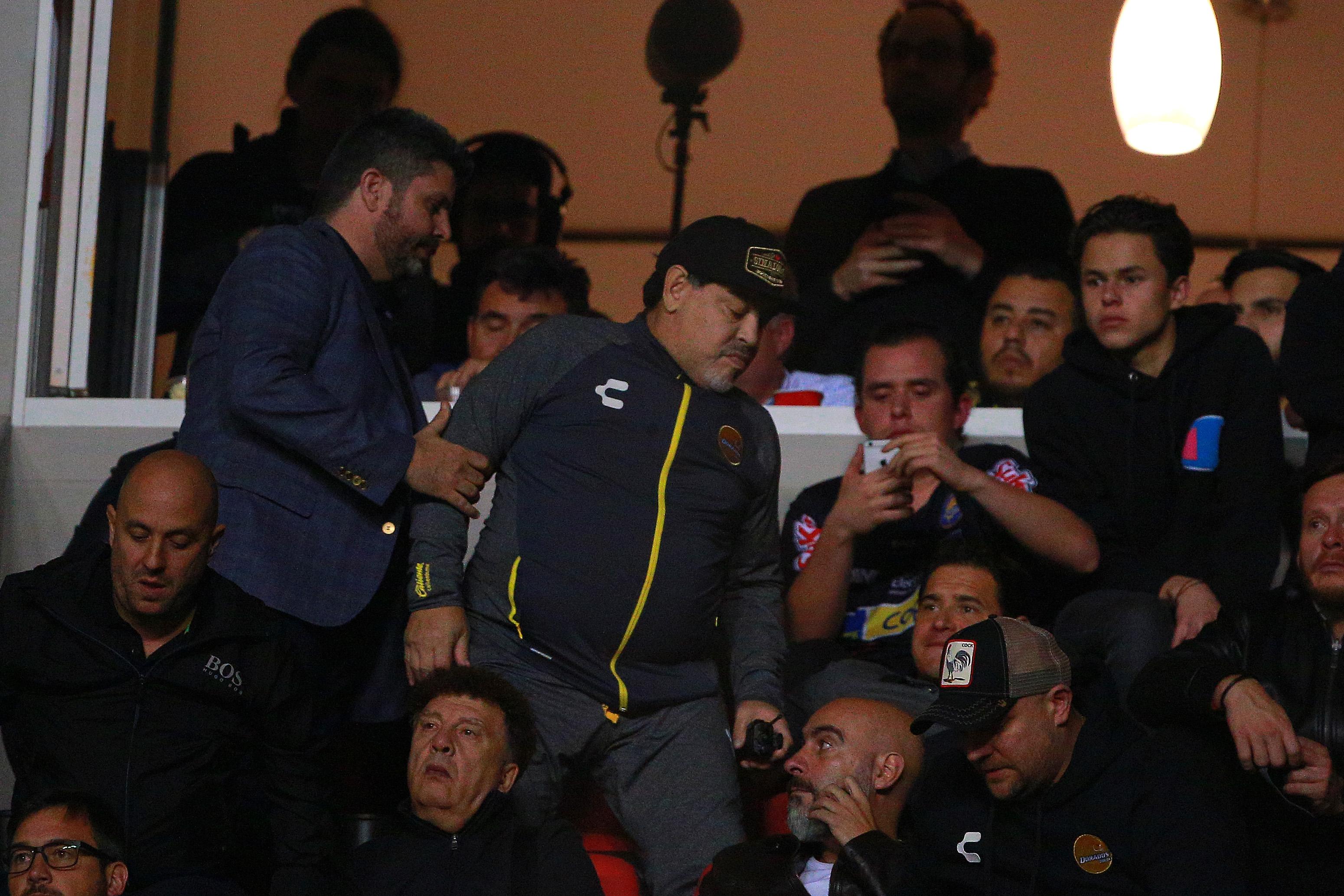 Maradona Investigación Fmf Agredir Aficionado Los Pleyers