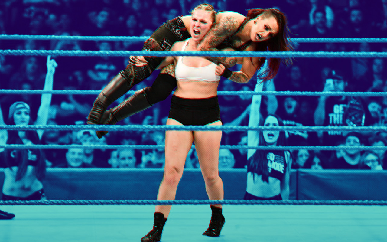 Elimination Chamber WWE Dónde Ver Transmision Ronda Rousey