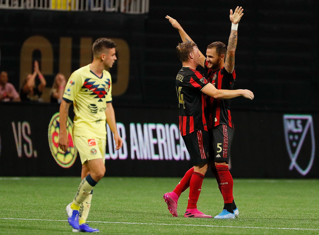 14/08/2019. América vs Atlanta United
