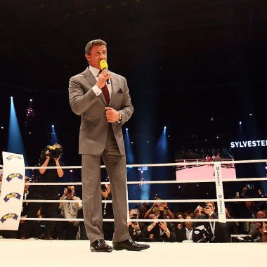 11/10/2014, Sylvester Stallone, Documental, Box Andy Ruiz